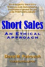 Short Sale ~ An Ethical Approach